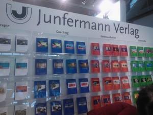 Der Stand des Junfermann-Verlages auf der Buchmesse FaM 2012