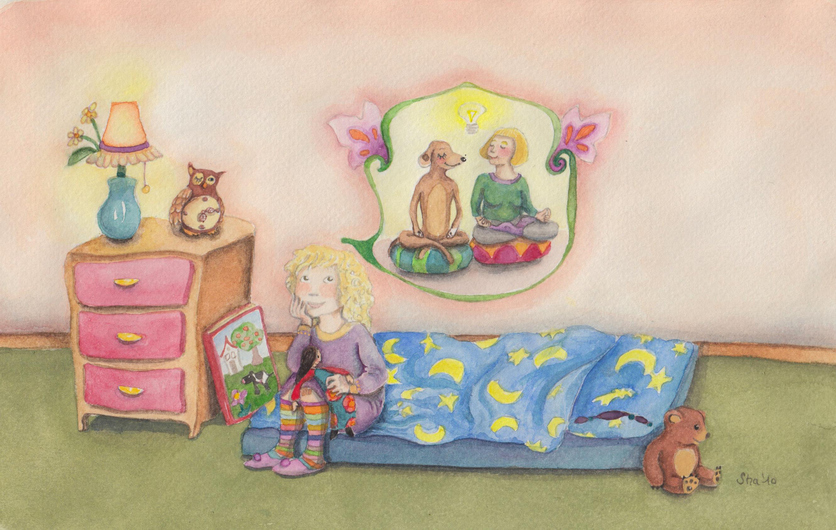 Illustration von Sharon Calman