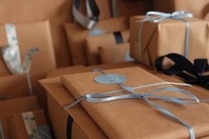 ... in diesem Jahr ist noch alles ohne Verpackung, aber es wird...
