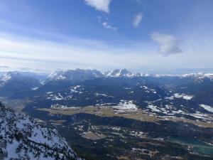 Himmel in den Alpen